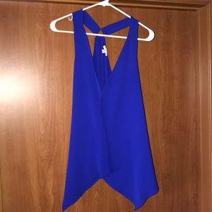 Blue dress tank